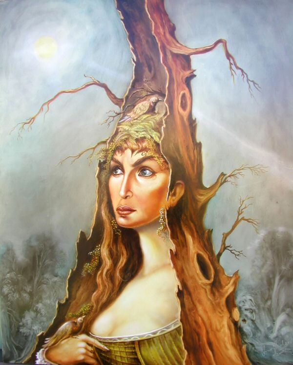 Rooted Woman