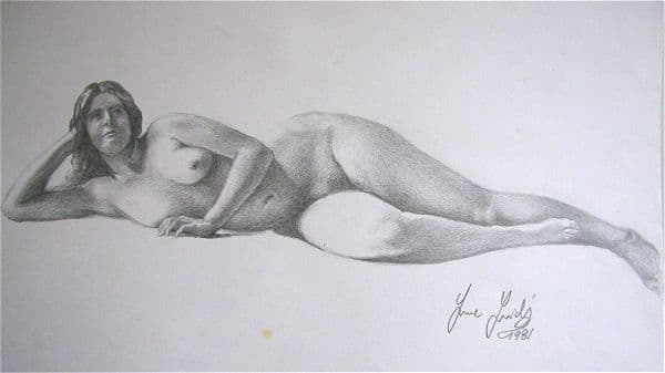 Nude Resting