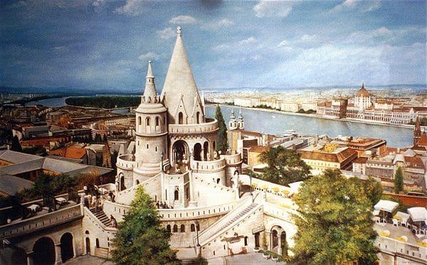 Budapest - Fishermans Bastion