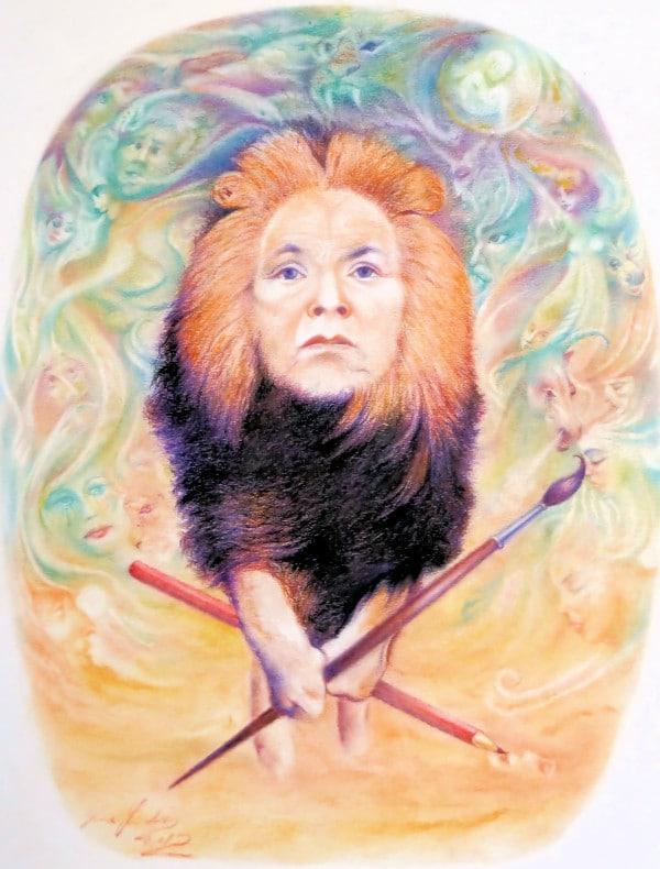 Leo the Artist
