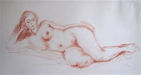 Relaxing Nude