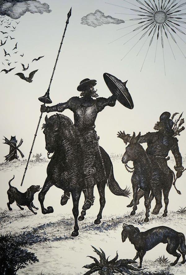 Don Quixote Under The Sun